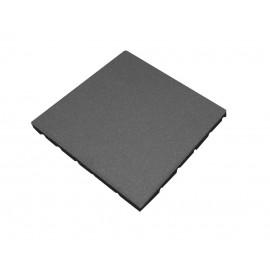 Gumová dlaždice - šedá 500 x 500 x 25