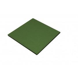 Gumová dlaždice - zelená 500 x 500 x 25